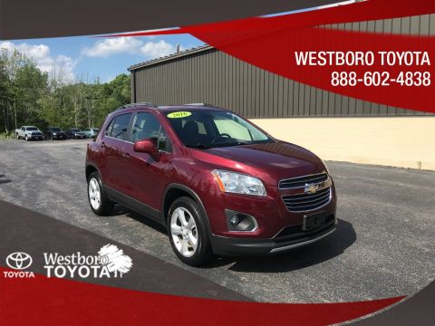 Pre-Owned 2016 Chevrolet Trax LTZ 4D Sport Utility AWD