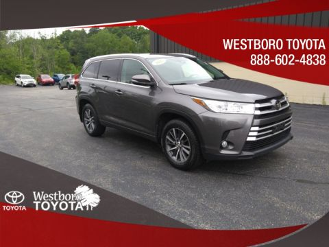 Pre-Owned 2017 Toyota Highlander XLE 4D Sport Utility AWD