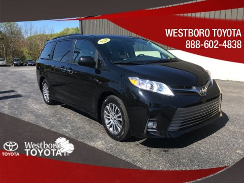 Pre-Owned 2020 Toyota Sienna XLE 4D Passenger Van FWD