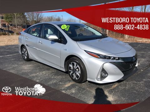 Pre-Owned 2017 Toyota Prius Prime Advanced 5D Hatchback FWD