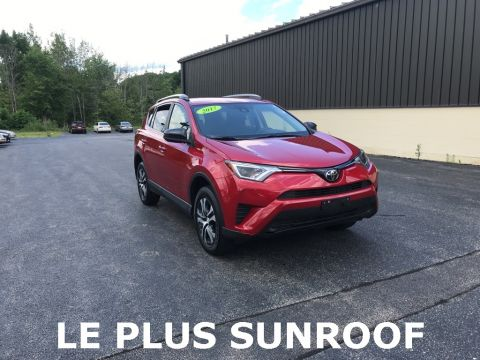 Pre-Owned 2017 Toyota RAV4 LE 4D Sport Utility AWD